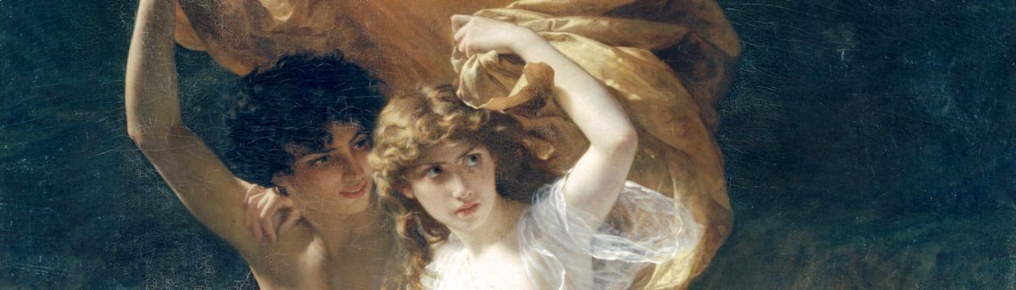 Pierre Auguste Cot - The Storm