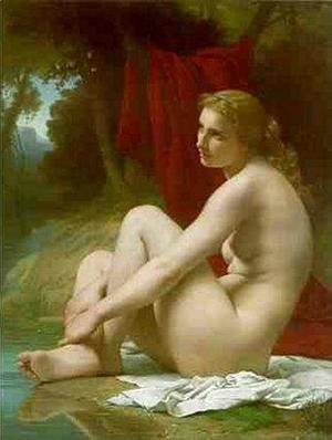 Pierre Auguste Cot - A Bather